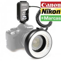 FLASH ANULAR YONGNUO MR-58 LED MACRO