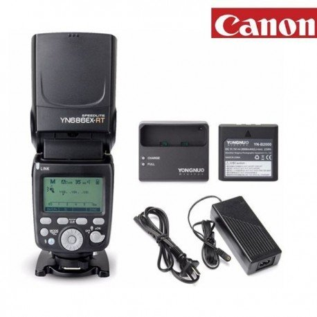 FLASH CON BATERÍA YN686EX-RT CANON