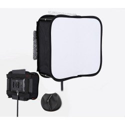 SOFTBOX PLEGABLE LÁMPARAS LED